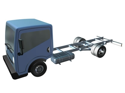 Nissan Cabstar 3D model